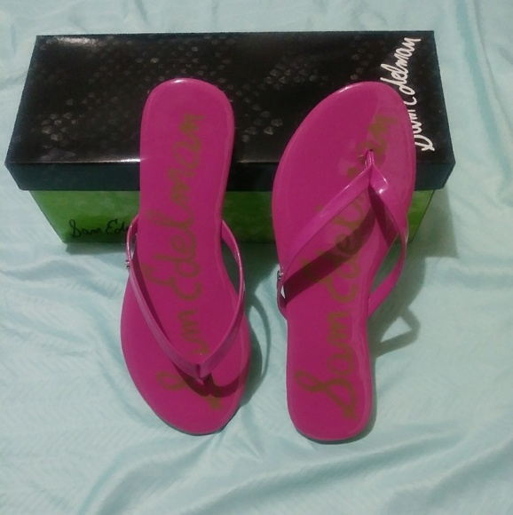 6b11964ec6ae Sam Edelman Hot Pink Sandals